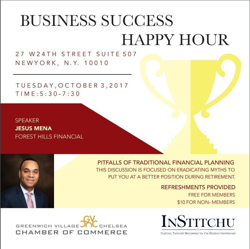 InStitchu Business Success Happy Hour!